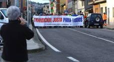 La marcha minera de Toreno pone rumbo a Oviedo