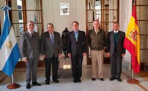 El embajador de Argentina en España confirma su asistencia a los actos que conmemorarán los lazos históricos y culturales con Astorga