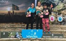 El Club Atletismo León pisa el podio en el Trail Tierras Pésicas