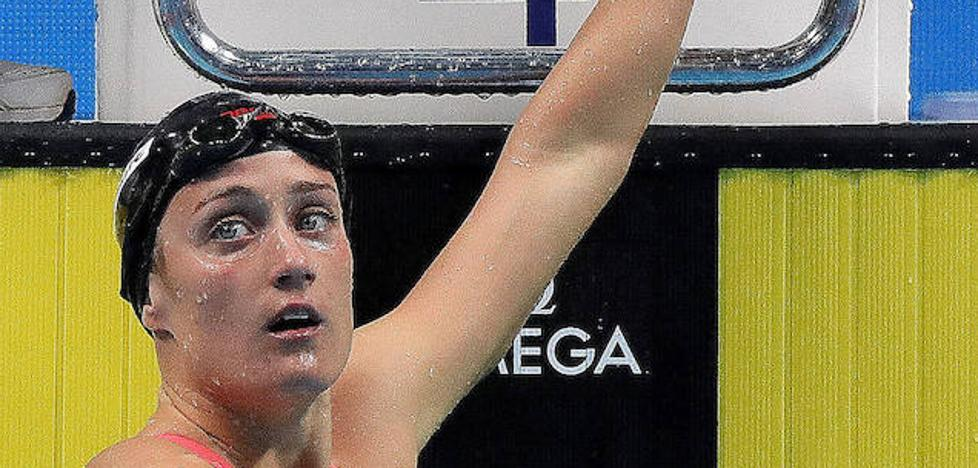 Mireia Belmonte, baja para el Mundial de piscina corta