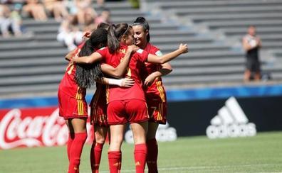 España golea a Canadá y ya está en cuartos de final