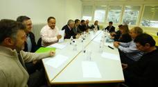 Del Olmo se reúne con alcaldes de municipios afectados por el cierre de explotaciones mineras y centrales