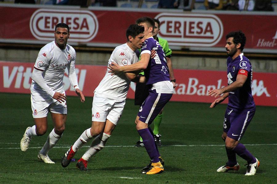 Empate de la Cultural ante el Burgos (1-1)
