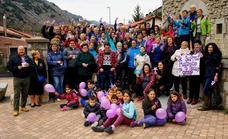 Ciñera grita '¡no!' a la violencia de género