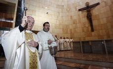 El Vaticano abre la puerta de la nueva iglesia de Nuestra Señora del Rosario