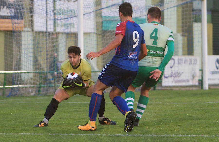Derrota de La Virgen ante la Gimnástica Segoviana (4-0)