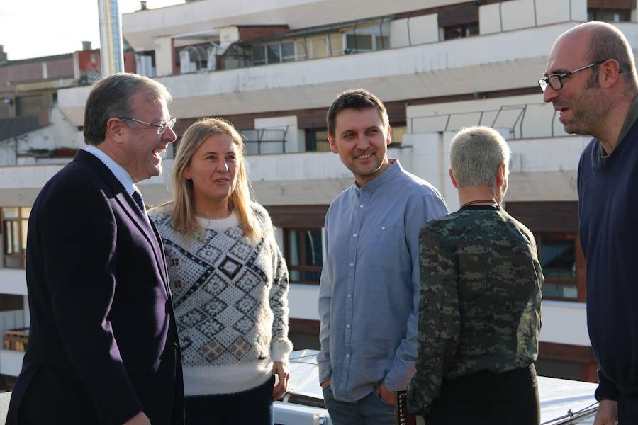 Reunión del alcalde con los responsables de los restaurantes Estrella Michelín en León