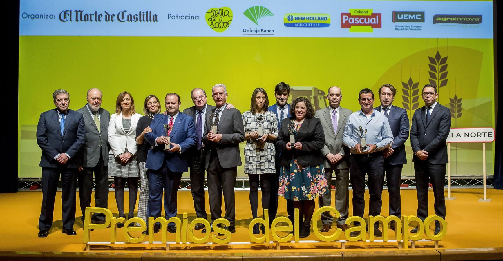 La gala de entrega de los V Premios del Campo.