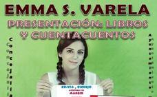 Emma S. Valera despide el 'Otoño Literario' de Villarejo de Órbigo con cuentacuentos y su nuevo libro
