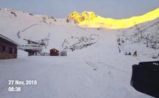 La previsión de lluvia 'ahoga' las pocas posibilidades de abrir el fin de semana las estaciones de esquí