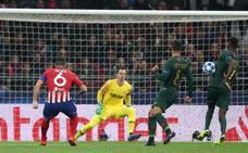 El Atlético, a octavos gracias a las rebajas de Mónaco