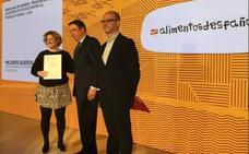 Quesería Picos de Europa recoge el Premio Alimentos de España al mejor queso azul