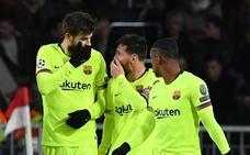 Messi no está para travesuras