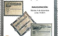 El MSM de Sabero presenta su colección de acciones de empresas mineras de la comunidad