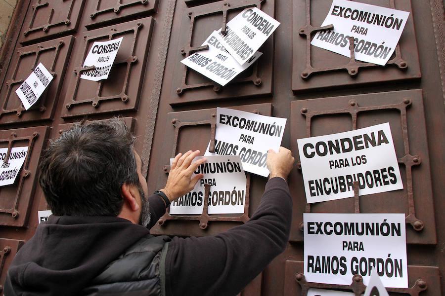 Concentración de exseminaristas en Astorga