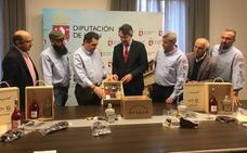 La Diputación reitera el apoyo a los Productos de León a través del apoyo a los empresarios de la provincia