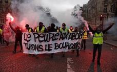 Arde París por la violencia extrema de los 'chalecos amarillos'