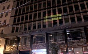 León ilumina los edificios más emblemáticos de la ciudad con la bandera de España