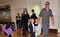 Angelina Jolie y Brad Pitt llegan a un acuerdo sobre sus hijos
