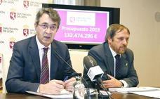 La Diputación cierra para 2019 un presupuesto de más de 132 millones, limitado por el Plan Económico-Financiero