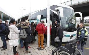 Una avería corta el tráfico ferroviario entre Asturias y León y obliga a recurrir a autobuses