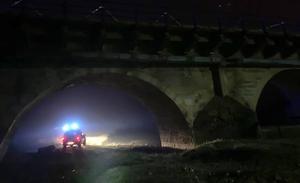 Fomento continúa con las obras en Puente Villarente pese al accidente de la madrugada del martes