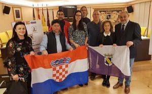 Croacia y Valencia de Don Juan intercambian profesores