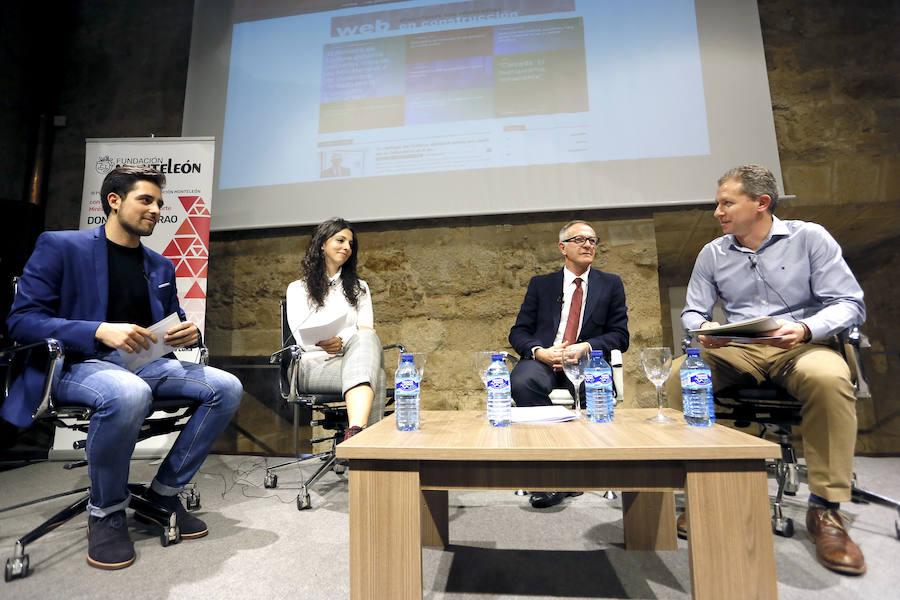 José Guirai afronta en León los retos del Ministerio de Cultural