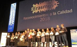 Una estudiante de biotecnología de la ULE, reconocida por el programa Erasmus+