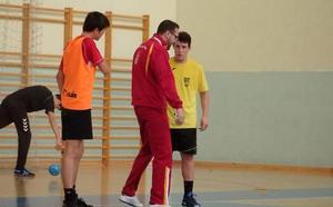 León acoge la concentración de tres selecciones autonómicas de balonmano