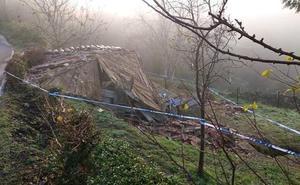 Fallece una mujer de 58 años aplastada por un hórreo en Asturias