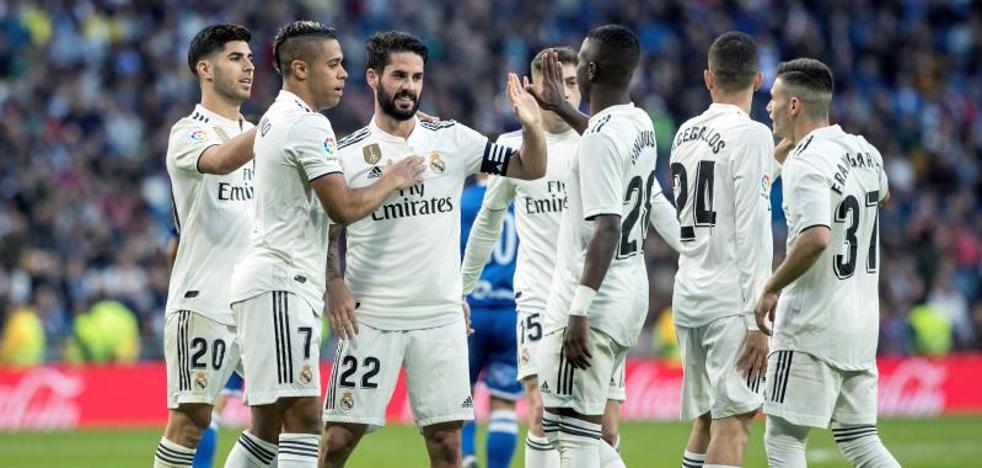 Isco y Asensio se enchufan en el set al Melilla