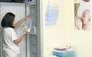 La maternidad del Hospital de León se incorporará el próximo lunes al Banco de Leche de Castilla y León