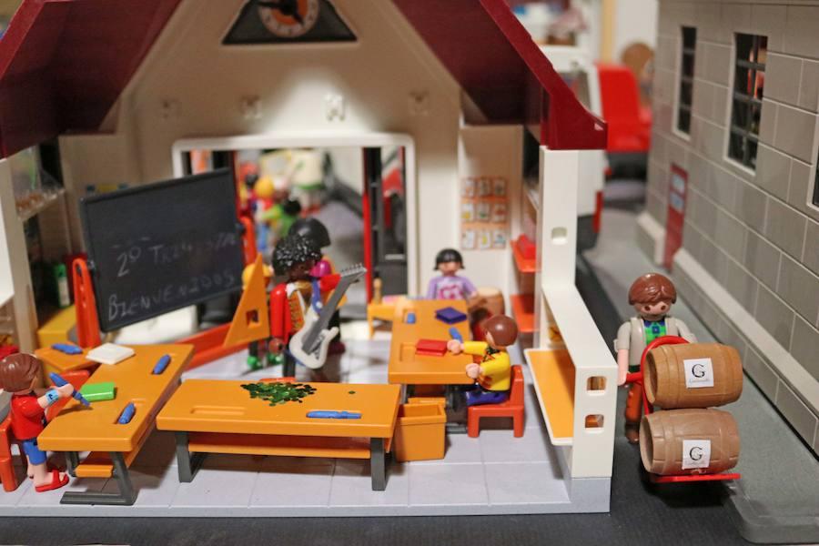 Exposición de Playmobil en el Mihacale de Gordoncillo