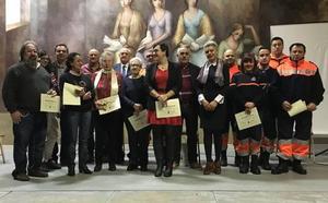 San Andrés homenajea a sus voluntarios de Servicios Sociales y Protección Civil «por su entrega desinteresada al municipio»