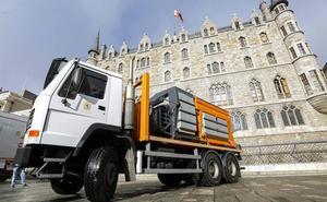 León avanza en su plan de choque de limpieza con cinco nuevas máquinas y 60 contenedores de carga lateral
