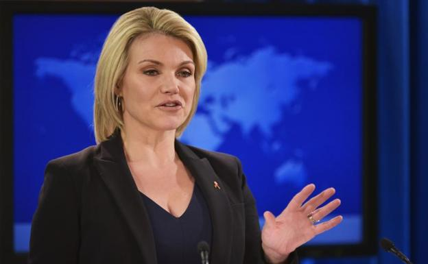Heather Nauert./AFP