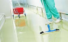 La plantilla de limpieza del Hospital de León arranca a medianoche la huelga indefinida