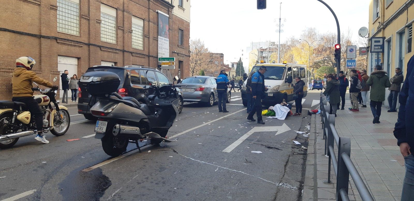 Accidente en León capital