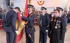 «¡Viva España! ¡Viva el Rey! ¡Viva el Ejército del Aire!»