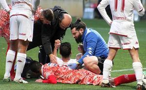 Saúl sufre la fractura de una costilla y es seria duda para el próximo partido
