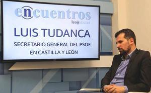Luis Tudanca: «Me asusta el blanqueo de Vox que intentan PP y Cs»