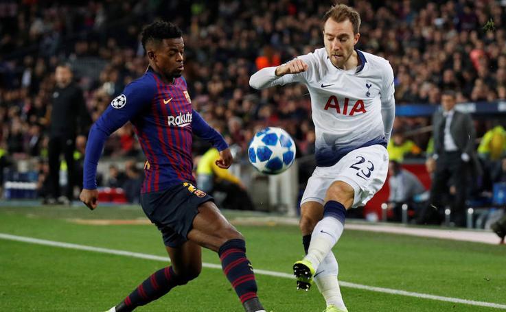 Las mejores imágenes del Barcelona-Tottenham