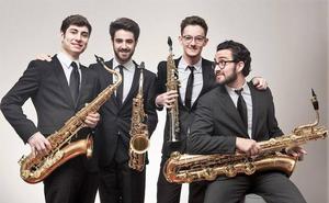 Los saxofonistas de 'Psiko Quartet' ofrecerá un viaje por los sonidos del planeta
