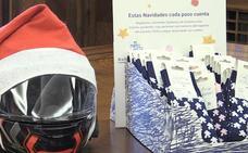 Calcetines de puzles y una 'Papanoelada Motera' en Navidad a favor de Autismo León