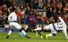 Más ocasiones que fútbol en el adiós del Barça a la fase de grupos