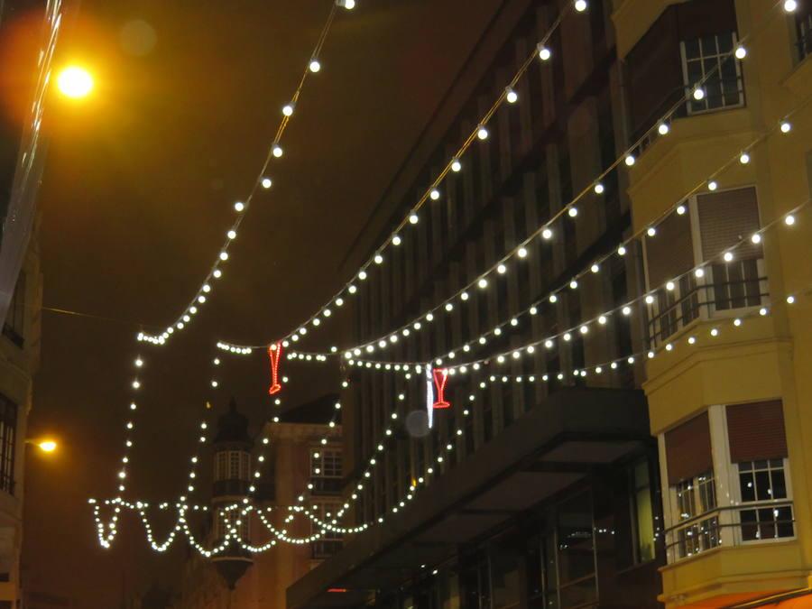 Las luces que iluminan León
