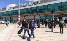 Los aeropuertos de Valladolid, León y Burgos ganan pasajeros hasta noviembre, mientras que Salamanca pierde un 2,6%