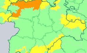 El jueves nevará en toda Castilla y León excepto en Valladolid y Salamanca