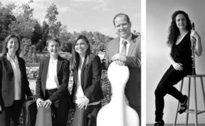 Cuarteto Amarat y Ona Cardona preludian la Navidad de Casa Botines